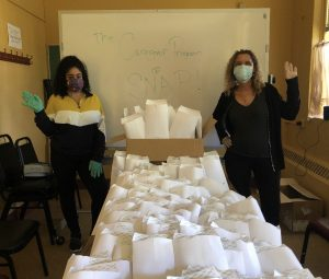 FACE MASKS DONATED BY: Councilman Barry Grodenchik, NYC Department for the Aging (DFTA), Eulalia Lasanta & Walmart Valley Stream